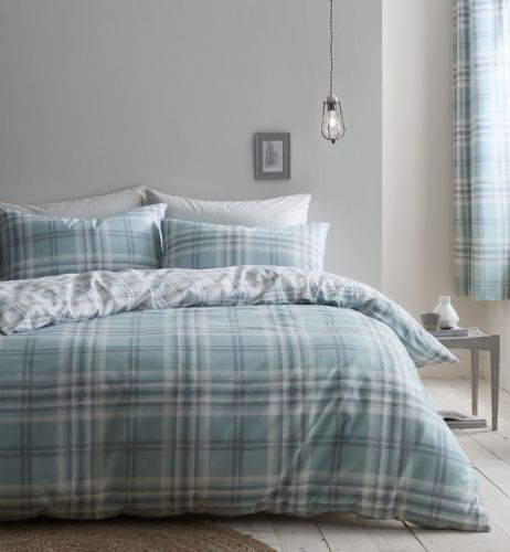Catherine Lansfield Kelso Mint Bedding Set